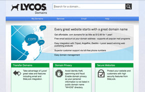 Lycos Domains